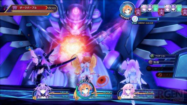 Hyperdimension Neptunia Victory II   Boss