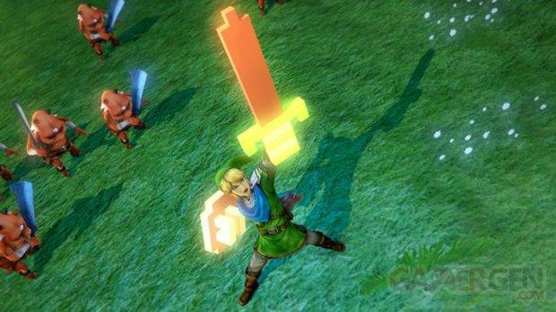 Hyrule Warriors 8 bit