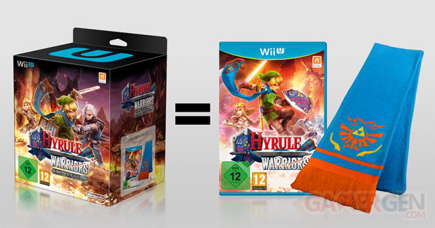 hyrule warriors collector