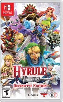 Hyrule Warriors Definitive Edition 08 03 2018 cover