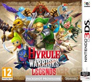 Hyrule Warriors Legends jaquette