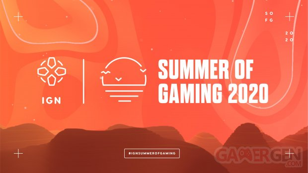 IGN Summer of Gaming 2020 head logo banner 2