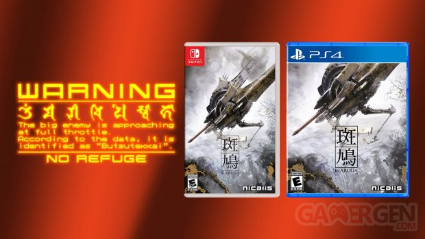 Ikaruga Nicalis Switch PS4 Boite Physique
