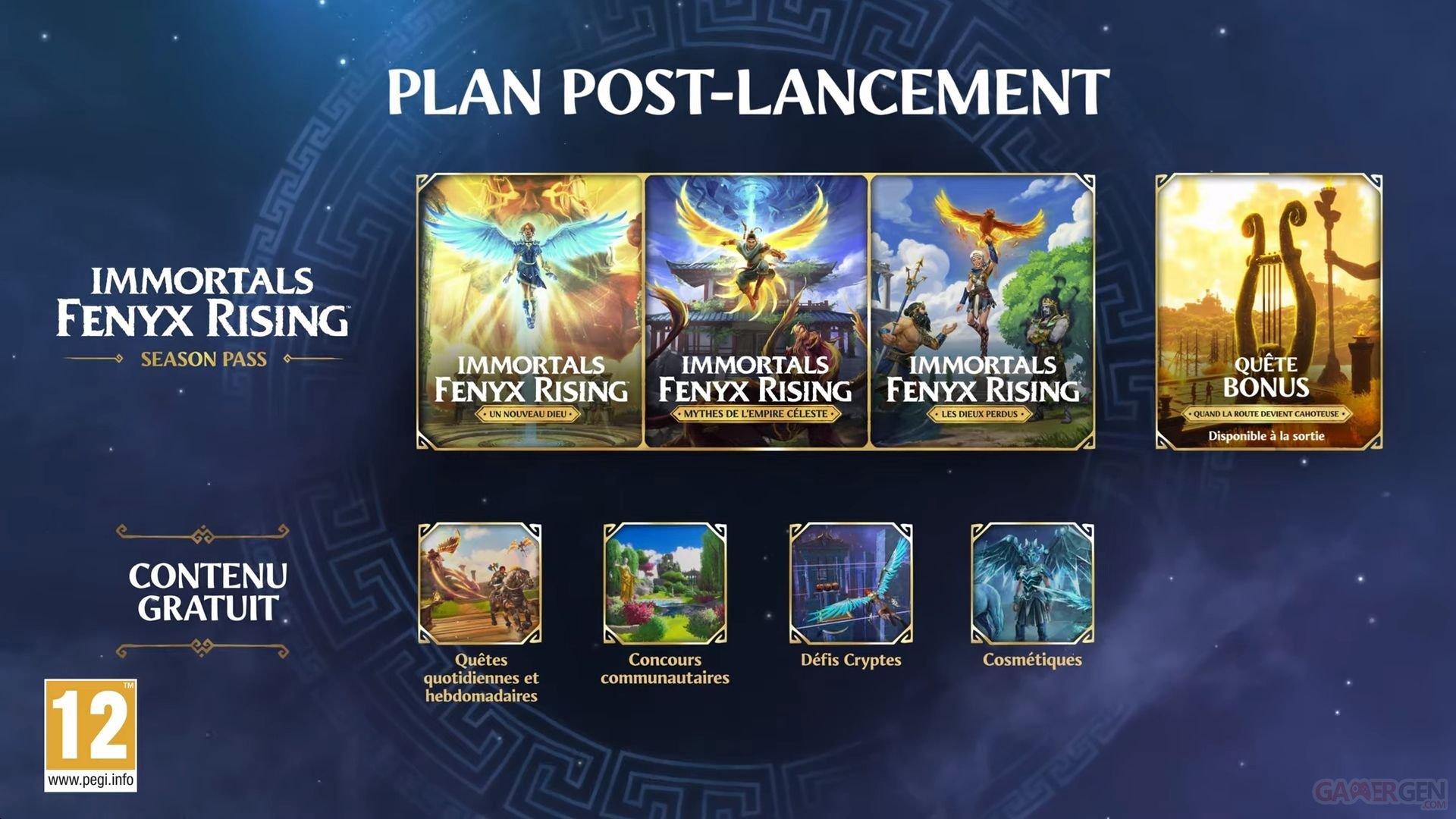 Immortals Fenyx Rising explique son contenu post-lancement