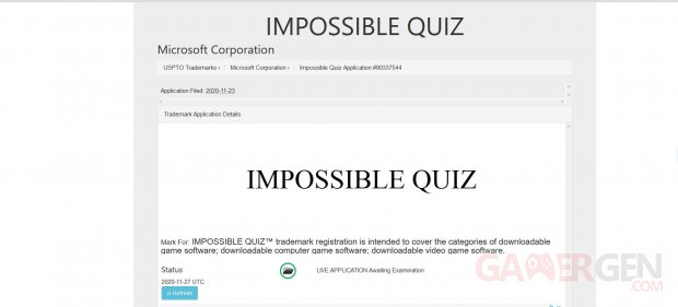 Impossible Quiz Microsoft Xbox Series X