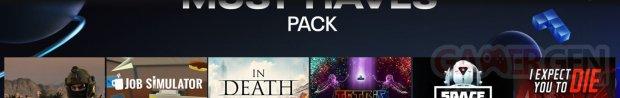 Incontournables Pack Oculus Quest