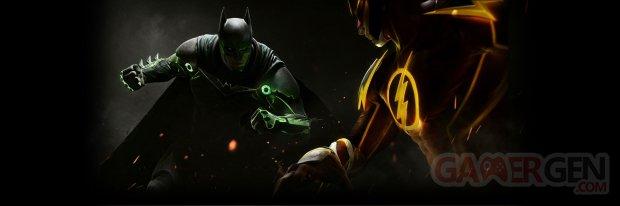 Injustice 2 combat Batman vs Flash