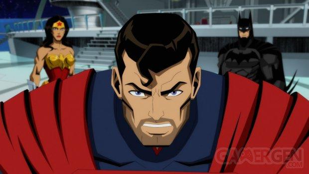 Injustice Gods Among Us Warner Bros Animation head