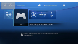 Interface PS4 menu 08.08.2013