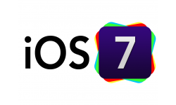 iOS 7 logo head
