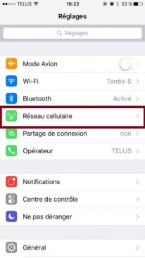 iphone 6s iphone6s ios9 connexion wifi 4g lte tutoriel 02