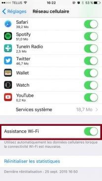 iphone 6s iphone6s ios9 connexion wifi 4g lte tutoriel 03