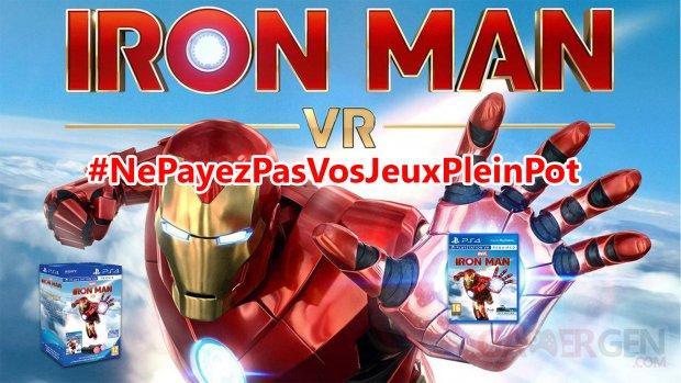 Iron man VR NePayezPasVosJeuxPleinPot