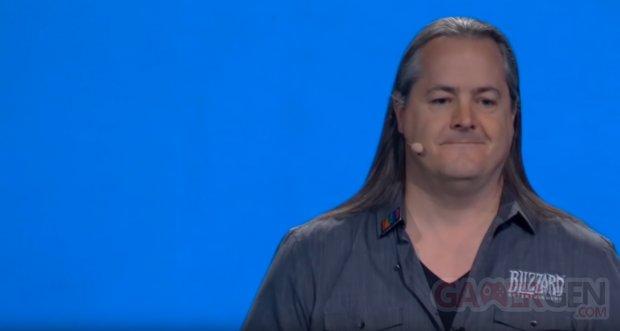J Allen Brack BlizzCon 2019 Blizzard