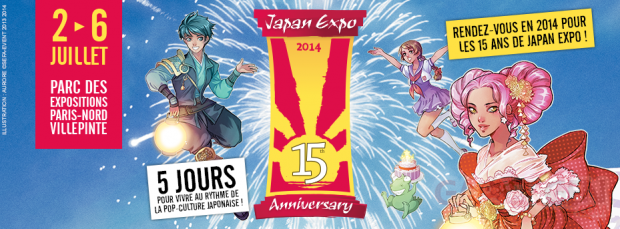 japan expo 15 2014   affiche