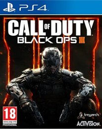 jaquette Call of Duty Black Ops III PS4