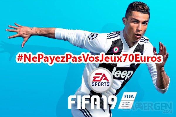 Jaquette FIFA 19  Cover
