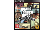 jaquette GTA San Andreas PS3