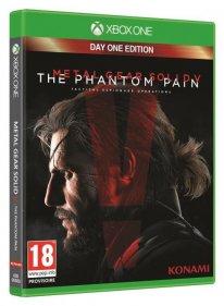 jaquette MGS V The Phantom Pain xBOX oNE