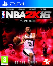 jaquette NBA 2K16 PS4