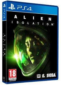 Jaquette PS4 Alien Isolation