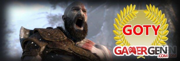 Jeu de l'annee 2018 GOTY gamergen,com god of war image