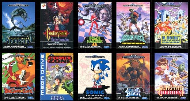 Jeux Mega Drive Mini liste europe image