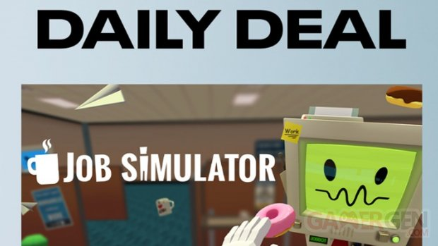 Job Simulattor Dealy Deal Oculus Quest Store