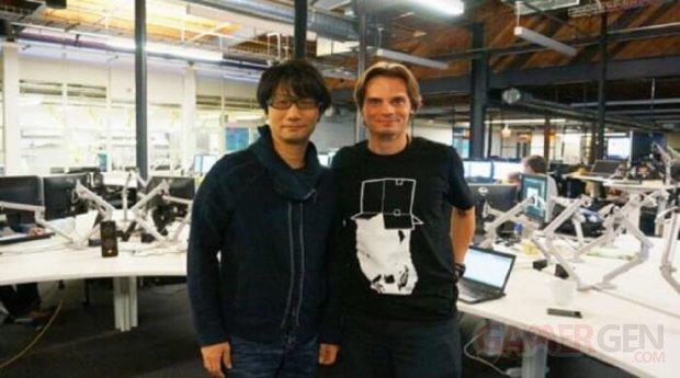 Julien Merceron et Hideo Kojima