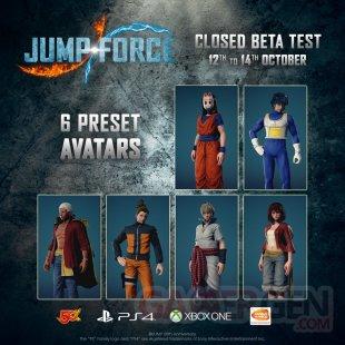 Jump Force bêta fermée 01 12 10 2018