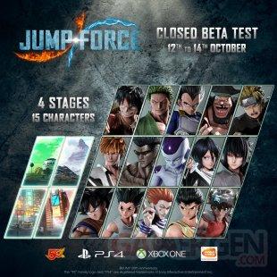 Jump Force bêta fermée 02 12 10 2018
