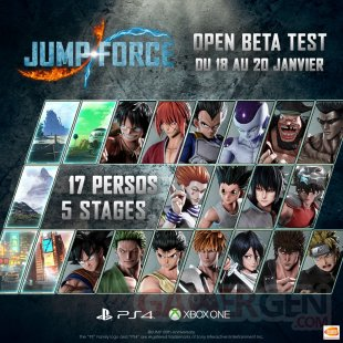 Jump Force bêta ouverte 02 10 01 2019