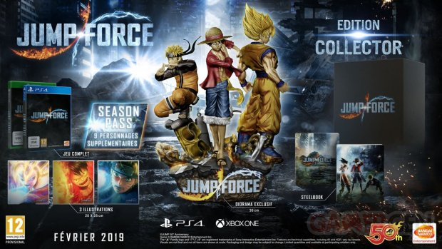 Jump Force édition collector