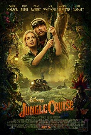 Jungle Cruise affiche 11 03 2020
