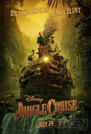Jungle Cruise poster 12 10 2019