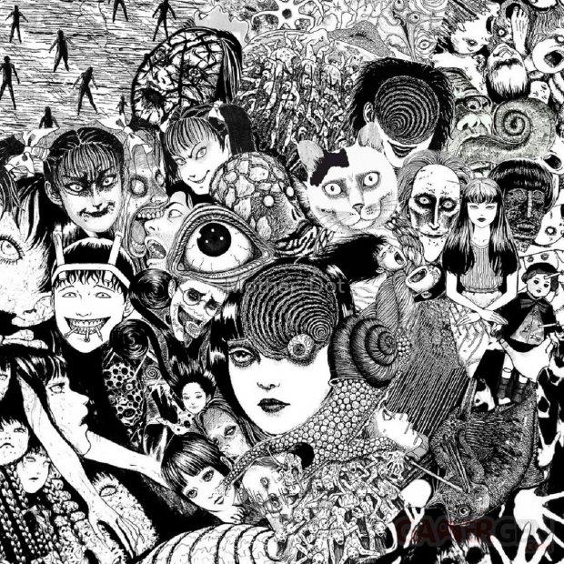 Junji Ito Collage