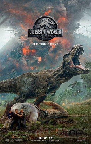 Jurassic World Fallen Kingdom poster 18 04 2018