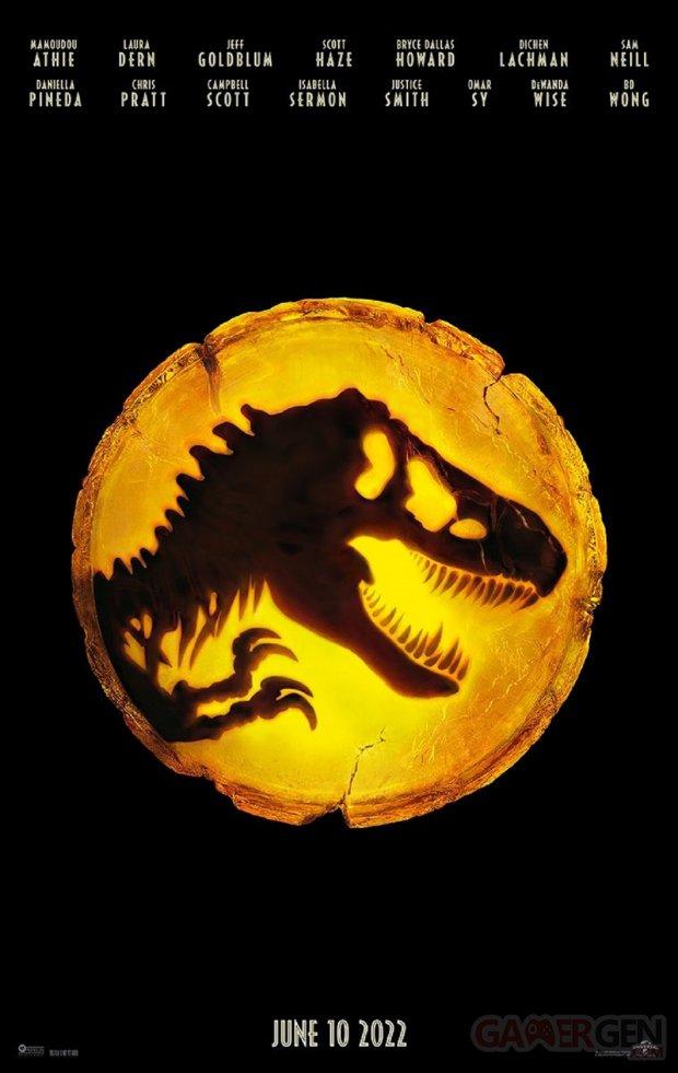 Jurassic World Le Monde d'après Affiche Dominion
