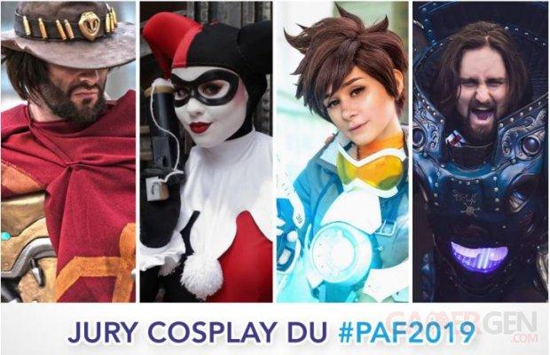 Jury Cosplay PAF 2019