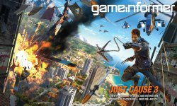 Just Cause 3 11 11 2014 couverture Game Informer