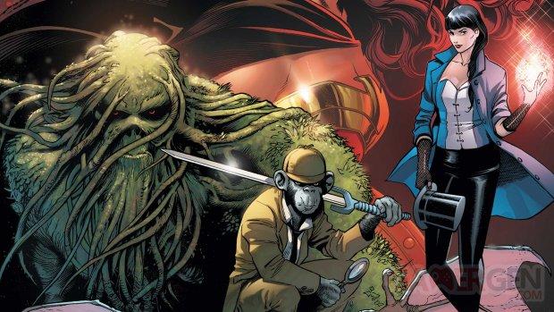Justice League Dark art