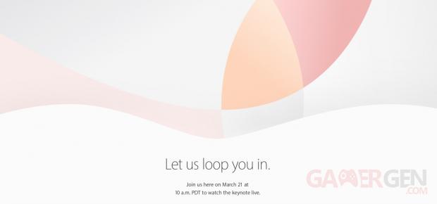 Keynote Apple 21 mars