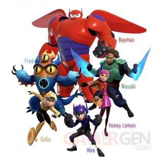 Kingdom Heart III Keyblade Big Hero 6 personnages 22 09 2018