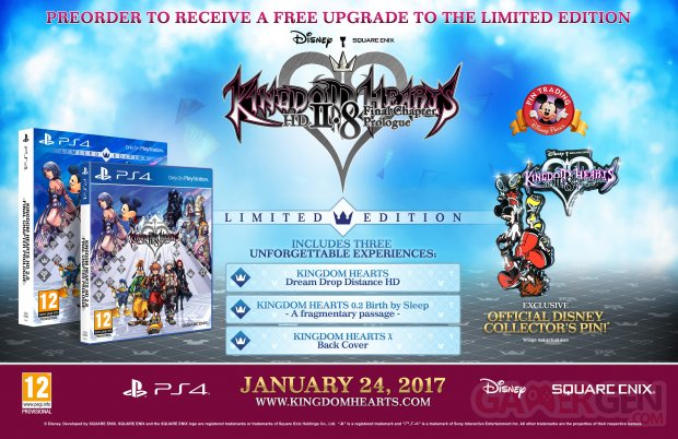 Kingdom Hearts HD 2.8 Final Chapter Prologue Edition Limitée Collector