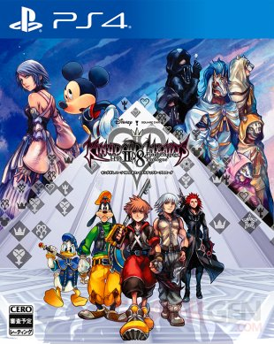 kingdom hearts ii.8 hd final chapter prologue jaquette japonaise