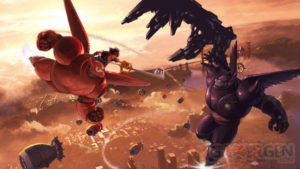 Kingdom Hearts III Big Hero 6 Les Nouveaux Héros artwork