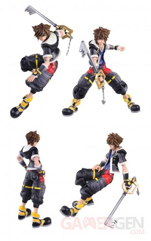 Kingdom Hearts III Figurine Sora 2018 (2)