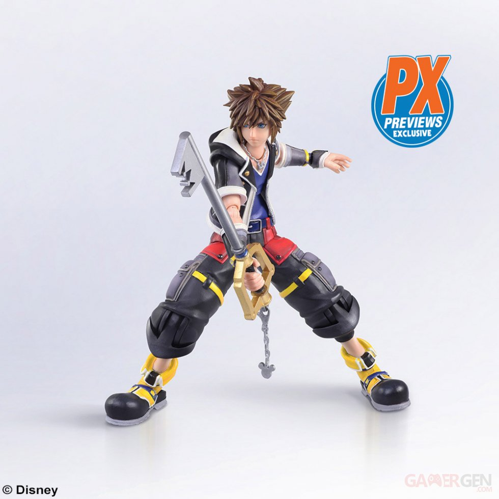 Kingdom Hearts III Figurine Sora 2018 (6)