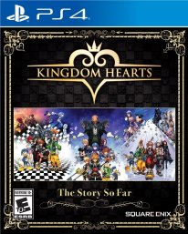 Kingdom Hearts the Story so Far cover jaquette