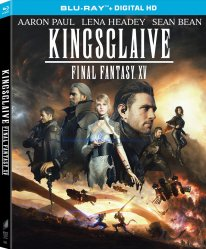 Kingsglaive Final Fantasy XV 24 07 2016 Blu Ray
